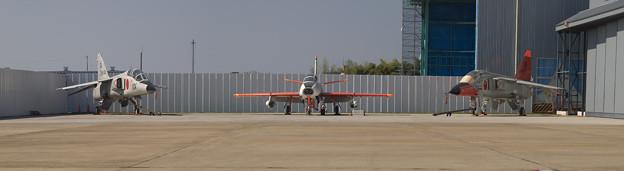 F-1 T-1 T-2 岐阜スペシャル展示