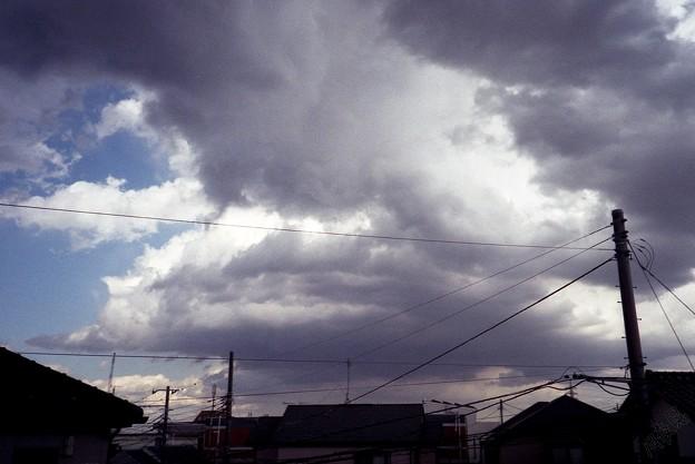 雲 盛り盛り