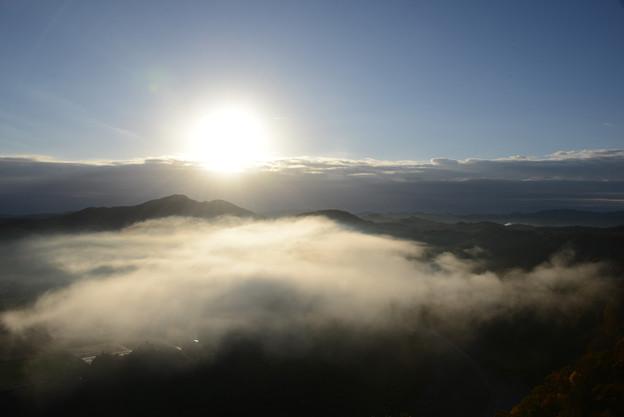 雲の量が増えてきた