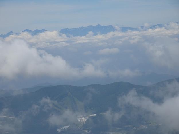 飛行機から見たような