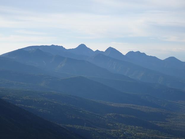 明るくなってきた南八ヶ岳