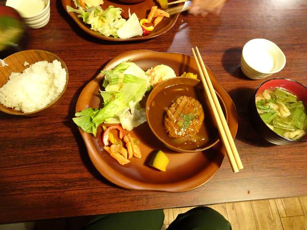 21日の夕食