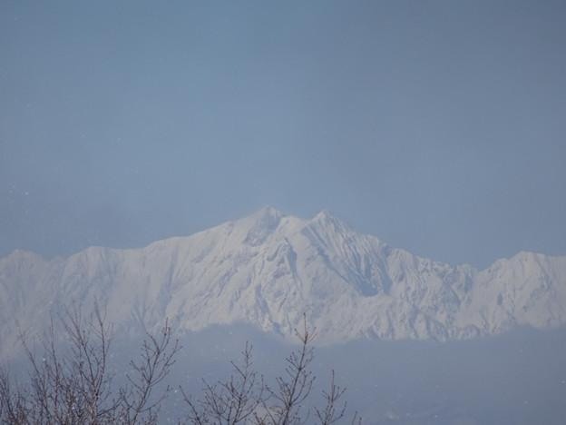 雪の鹿島槍ヶ岳