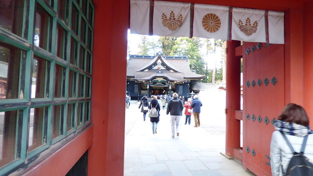 Photos: 香取神宮楼門