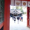 写真: 香取神宮楼門