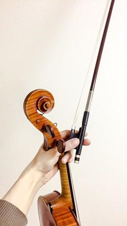 楽器の持ち方