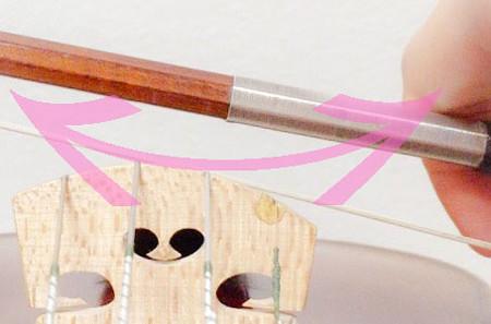 連続する3つの重音の弾き方3 東京・中野・練馬・江古田、ヴァイオリン・ヴィオラ・音楽教室
