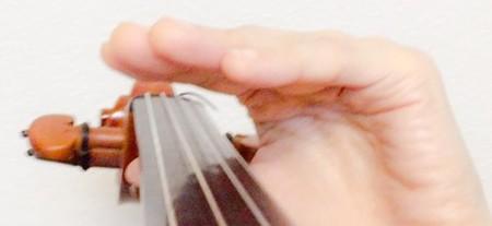 左手の指の形6 東京・中野・練馬・江古田、ヴァイオリン・ヴィオラ・音楽教室