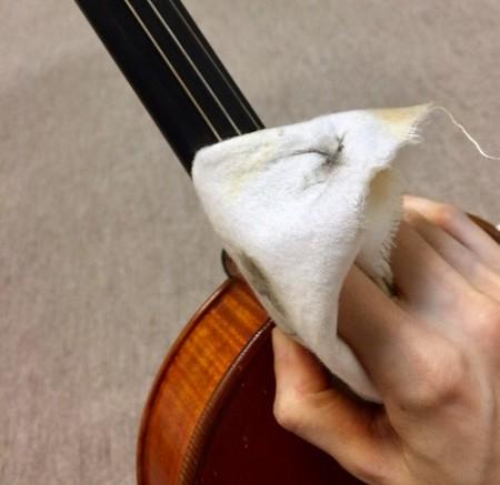 東京・中野・練馬・江古田、ヴァイオリン・ヴィオラ・音楽教室 弦替え中