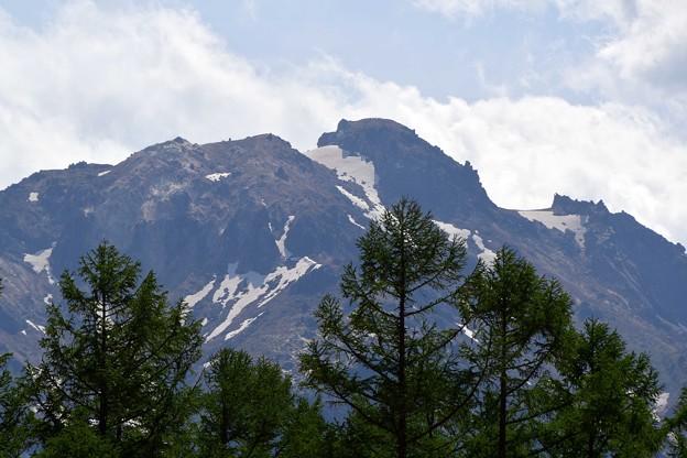 写真: 焼岳