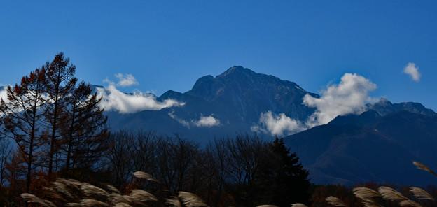 Photos: 雲踊る・・甲斐駒と