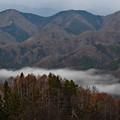 一筋の雲海