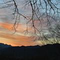 Photos: 両神山に陽はおちて。。