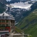 Photos: ローヌ氷河を見る