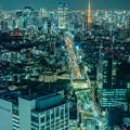 Photos: 東京タワーが見える夜景が好き