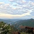 写真: 山の秋