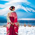 Photos: 傘雲富士と
