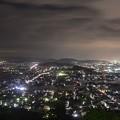 村国山夜景