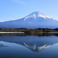 田貫湖與富士山