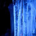 写真: 真夏の氷柱