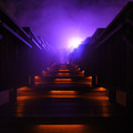Photos: 湯煙の階段