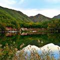四尾連湖水明荘