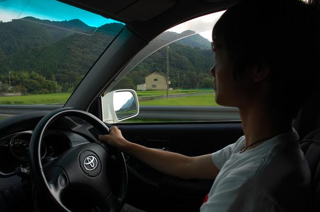 Photos: 02息子の運転
