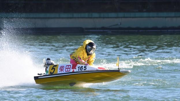 ボートレース多摩川にて