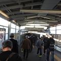 大曽根駅/ホームから改札への長い通路