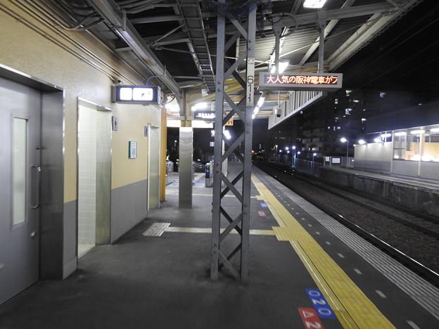 福駅/下り1番線ホーム