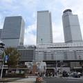 Photos: 名古屋駅/太閤口駅前正面から見た名古屋駅