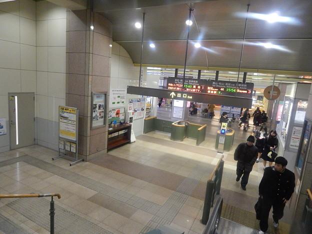 坂出駅/改札内