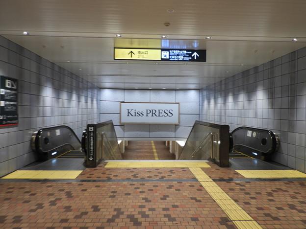 新神戸駅/地下鉄への乗り換え通路