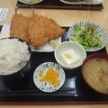 Photos: アジフライ定食2