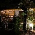 Photos: 星の見えない露天風呂付コテージに2連泊