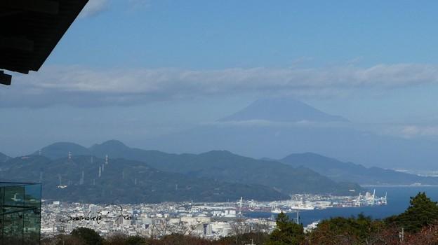 日本平より富士山が・・・