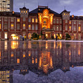 Photos: 雨の東京駅