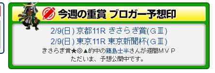 最強競馬ブログランキング/きさらぎ賞